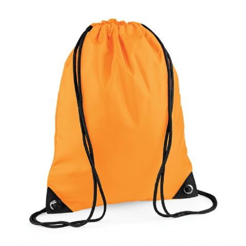 CHOOSE DESIGN - FLUORESCENT ORANGE GYMSAC